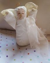 "9"" RARE ANGEL fabric DOLL Christmas Xmas tree Nativity ornament decoration new - $25.03"