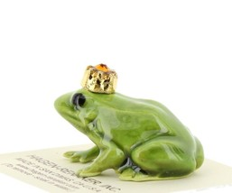 Birthstone Frog Prince November Simulated Citrine Miniatures by Hagen-Renaker image 2