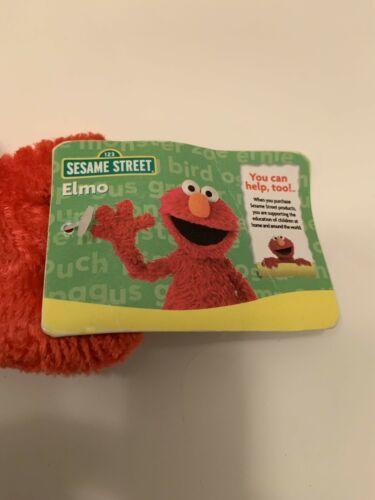 "Elmo Rare Vintage Christmas Elf Sesame Street Mattel Plush 2007 18""H tag image 4"