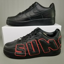 Nike Air Force 1 Low x CPFM Athletic Shoes Mens Size 8.5 Black Blue Red Sunshine image 2