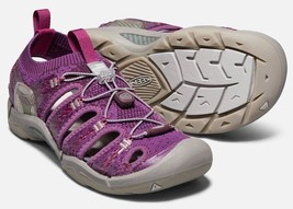 Keen Evofit One Size 7 M EU 37.5 Women's Sports Sandals Grape Kiss / Grape Wine