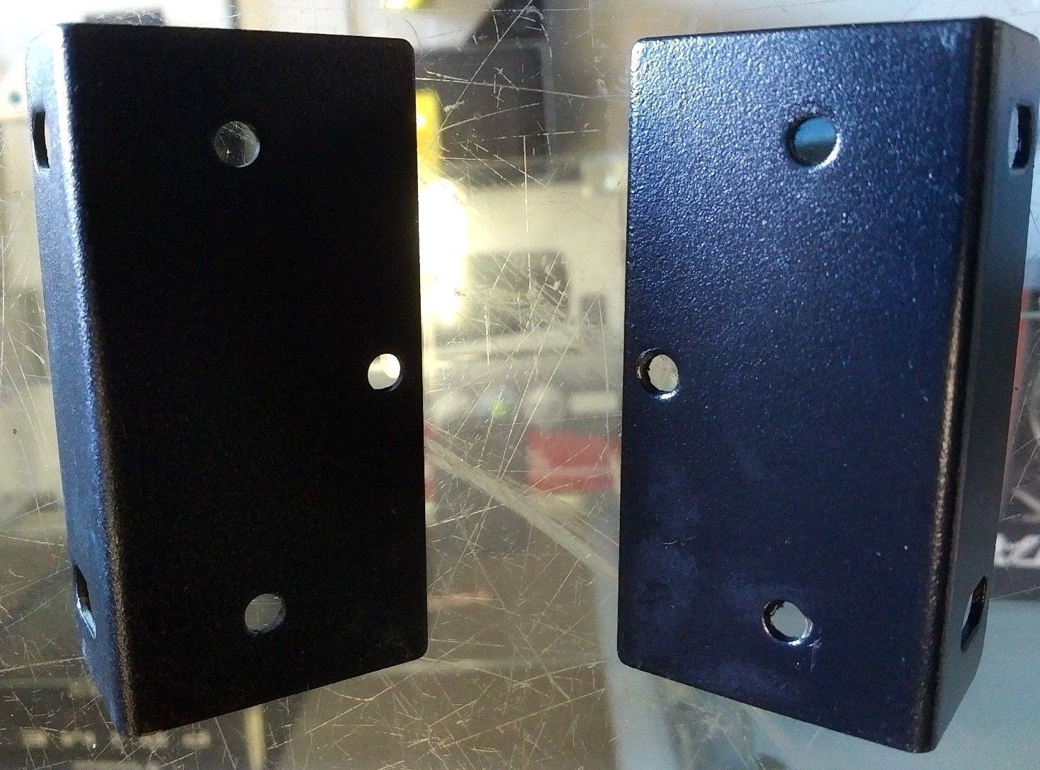 Universal Rack Mount Ears Brackets for 3 1/8 inch high 17 inch components