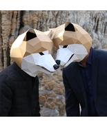 Creative Cartoon Husky Head Mask DIY Live Performance Props - $19.99