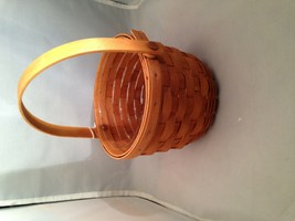 Longaberger Small Peg Basket With Protector - $21.56