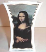 """Goebel Mona Lisa Porcelain Vase 4.75""""H Artis Orbis Leonardo Da Vinci New... - $19.90"""