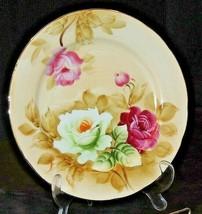 Decorative Hand Painted Lefton Plate 2222 AA20-7202 Vintage   - $49.95