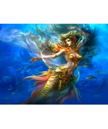 MERMAID ATLANTIS Power SEX WISHES DREAMS visions power travel intuition ... - $49.77