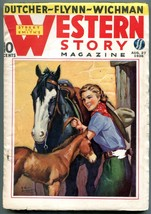 Western Story Magazine Pulp August 27 1938- VG - $50.44