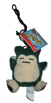 "Pokemon OOP 1999 ""Snorlax"" Anime Plush Clip / Keychain * BRAND NEW! - $4.88"