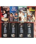 Disney VHS Lot of 4 Flight of Navigator, Monkey's Uncle, Noah's Ark more - $19.79
