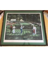 ROBERT BETLEY pencil Signed vintage Masters Champions Autographed golf p... - $93.50