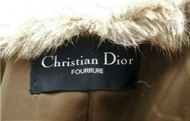Vintage Authentic Christian Dior Fourrure Brown Fur Coat Size Unknown image 6