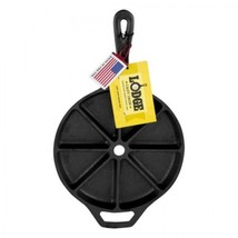 Cast Iron Cornbread Pan Mini Divided Wedge Non Stick Sturdy Heavy Duty S... - $37.99