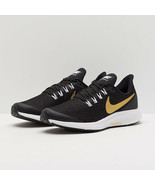 Nike Women's Sneakers Air Zoom Pegasus 36 Black metallic gold white AV44... - $45.49
