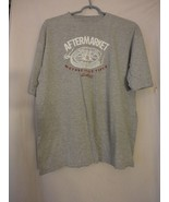 Levi Strauss Signature Size L Grey t-shirt Unisex  Motorcycle Tires - $14.84