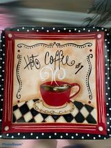 Nostalgic Coffee Plate Hobby Lobby - $12.87