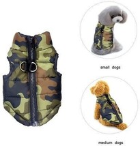 Dog Winter Coat Vest Windproof Warm Dog Clothes Jacket For Cold Weather... - $21.75