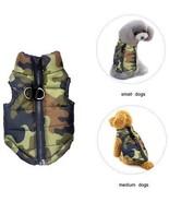 Dog Winter Coat Vest Windproof Warm Dog Clothes Jacket For Cold Weather... - $21.75