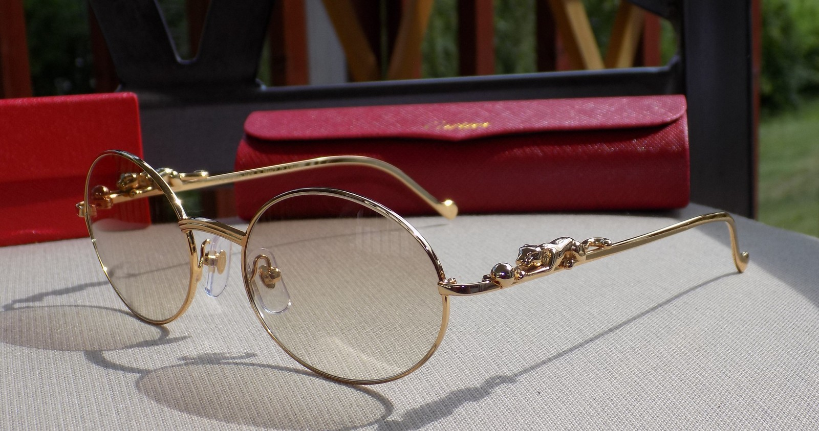6b8a26f1d2f2 Cartier Custom Panther Series 2012 Oval Lens and 20 similar items