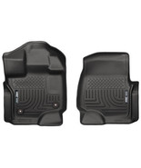 Husky Liners 15 Ford F-150 Super/Super Crew Cab WeatherBeater Black Fron... - $107.95
