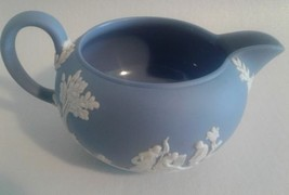 Wedgwood Jasperware Creamer Blue - $15.08
