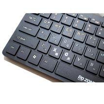 DDZONE DK500M Korean English USB Wired Mini Keyboard Membrane Switch 78 Keys image 5