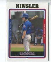 IAN KINSLER RC 2005 Topps #302 Texas Rangers Baseball Sports Cards - $1.80