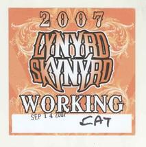 Lynyrd Skynyrd 9/14/07 Burgettstown PA WORKING Backstage Pass! - $9.89