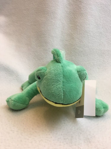Carter/'s Green Sea Turtle Plush Stuffed Lovey Baby Toy NWT