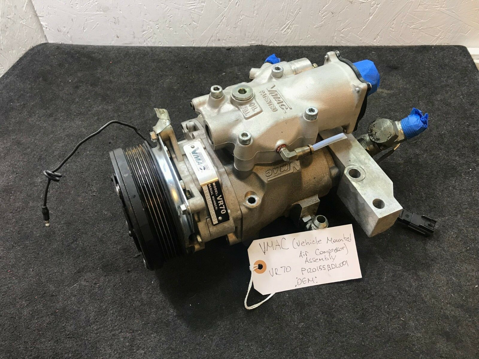 VMAC (Vehicle Mounted Air Compressor) - VR70 Complete Assembly 120155BDL001