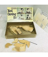 HJ Waite Bird Carving Kit Decoy Mallard Ducks Orig Box & Paperwork - $34.16