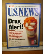 U.S. News & World Report Magazine January 9 1995 Drug Alert! - $8.99