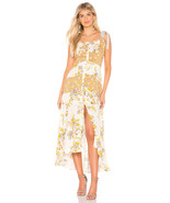 Free People Lover Boy Floral Print Button Front Maxi Dress Neutral MSRP:... - $99.99