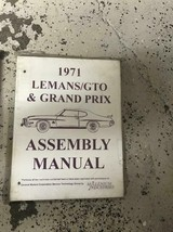 1971 GM Pontiac GTO Lemans  Grand Prix Assembly Manual - $9.85