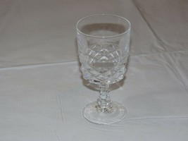 "Crystal Juice Glass Stem glass 5 3/16"" Tall X 2 5/8"" Wide stemmed water ... - $16.03"