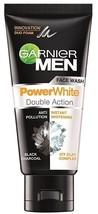 Garnier Men Power White Double Action Anti-Pollution  White face wash  5... - $32.82