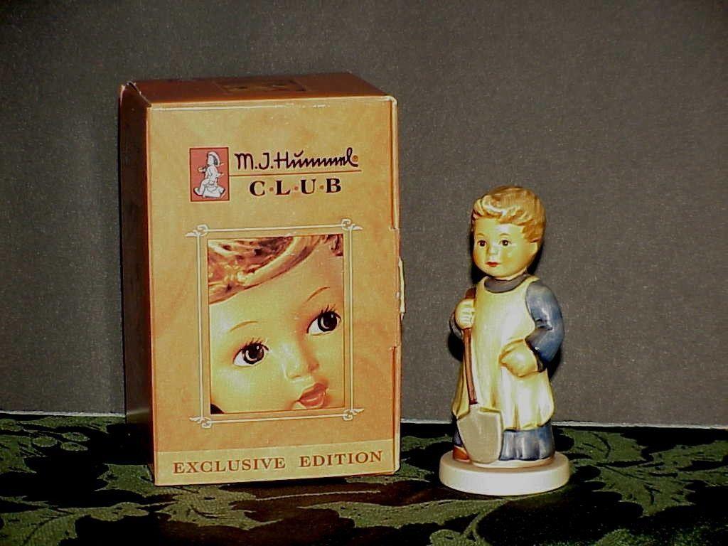 "Hummel Goebel 727 Garden Treasures 3 5/8"" Box ""Exclusive Club Edition"""