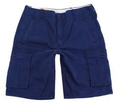 Levi's Men's Cotton Cargo Shorts Original Relaxed Fit Blue 124630160