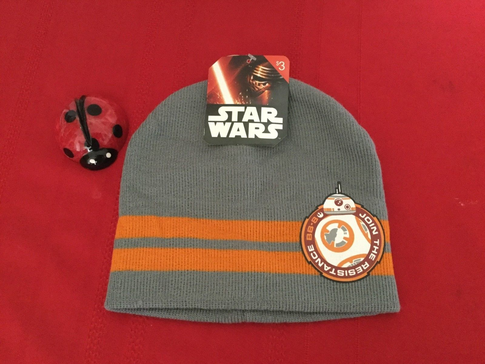 Star Wars Beanie Hat Darth Vader Kylo Ren BB-8 Awekens Free Shipping