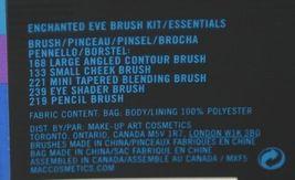 MAC(r) Enchanted Eve Brush Kit 5 Brushes Plus Carry Bag image 10