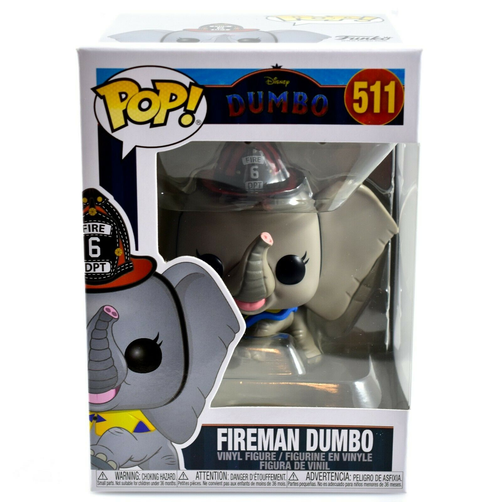 Funko Pop! Disney Fireman Dumbo #511 Vinyl Action Figure