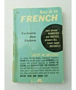 Say it in french by Leon J. Cohen 1962 paperback book - $5.00