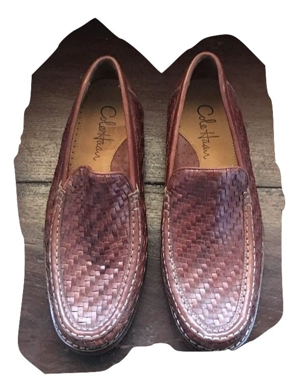 08598b83cb6 Img 4311659635 1501336051. Img 4311659635 1501336051. Previous. COLE HAAN  Men Tremont Venetian Leather Woven Nike Air Soles Loafers ...