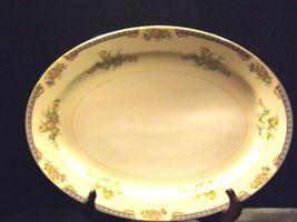 Meita China Large Serving Platter~ Japan Hand Painted AA19-1525 Vintage image 7