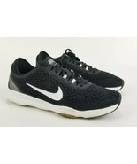 Nike Zoom Fit Black White Womens Size 8 704658- 002 Training Running Shoes  - $39.59
