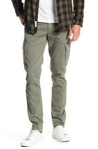 J Brand Mens Alpha Charlie JB000466 Moto Trousers Slim Underwood Green S... - $81.97
