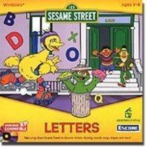 Sesame Street Letters (Jewel Case) [CD-ROM] Windows NT / Mac / Linux / U... - $1.99