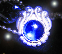 HAUNTED NECKLACE BLUE MOON GAZING MANIFEST YOUR REQUEST OFFERS MAGICK 7 ... - $89,007.77