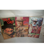 3 SEALED VHS tapes , NEVER OPENED John Wayne, True Grit, The Cowboys, Ch... - $20.00