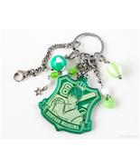 Midorima Shintaro Handcrafted Keychain, Green, Silver, Anime Accessories - $28.00